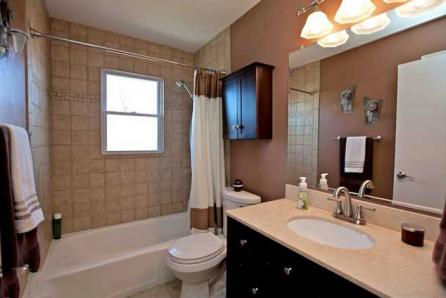 Newly remodeled bathroom in Normandy Park, Washington